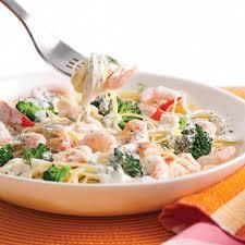 brocolis cuisine capellinis aux crevettes nordiques goberge et brocoli soupers