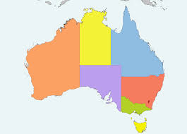 Australia On A World Map by Australia On The Map Roundtripticket Me