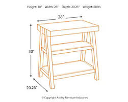 ashley furniture corner table chanceen home office corner table ashley furniture homestore