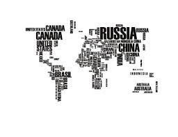 Indonesia World Map by World Map Wall Stickers Gadget Flow