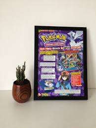 unique figure wall art for framed pokemon advert poster retro gaming frame unique