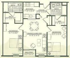 two bedroom two bath floor plans 2 bedrooms 2 baths nrtradiant