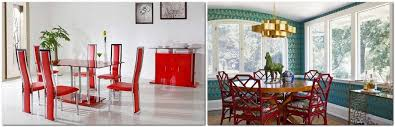 15 reasons to have red dining chairs home interior design