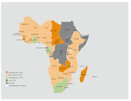 World Hunger Map by Global Hunger Index 2015 Africa Fact Sheet Ifpri