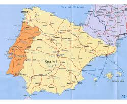 Alicante Spain Map by Maps Of Portugal Detailed Map Of Portugal In English Tourist