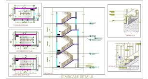 working drawing floor plan staircase design working drawing plan n design