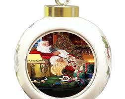 whippet ornament etsy