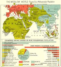 India Population Map by The World U0027s Muslim Population Around 1900 Map Islam