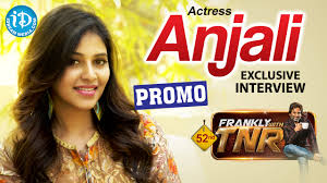 actress anjali exclusive interview promo frankly with tnr 52