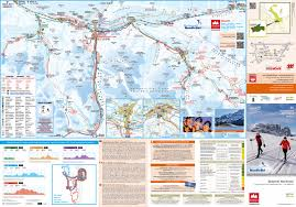 Dolomites Italy Map by The Cross Country Skiing Eldorado In Italy Sesto Sexten