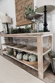 Best 25 Pottery Barn Inspired Table Sweet 8 Gorgeous Entryway Tables You Can Make On A Budget