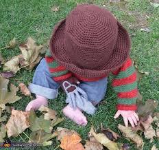 Kids Freddy Krueger Halloween Costume Baby Freddy Krueger Halloween Costume Photo 3 3