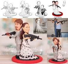 sports cake toppers airsoft recreational shooting sport wedding cake toppers
