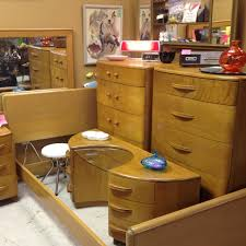 Best Heywood Wakefield Furniture Images On Pinterest - Mid century modern blonde bedroom furniture