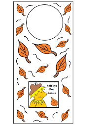 fall crafts for sunday kids