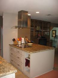 Kitchen Partition Wall Designs Half Wall With Pillars To Separate An Eat In Kitchen From Living