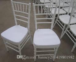 Cheap Chiavari Chairs Country Club White Chiavari Chair With Seat Pad White Tiffany