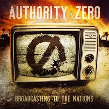 screaming fastcore authority zero broadcasting to the