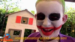 bad baby joker halloween pranks food fight ghost prank spiderman