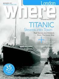 calaméo where london november issue 2010