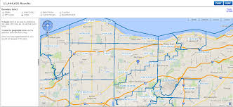 Cleveland Ohio Zip Code Map by Referenceusa U S Businesses Westlake Porter Public Library