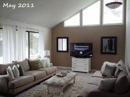 ideas tv walls and living room furniture design with black