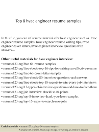 hvac mechanical engineer sample resume 19 physical design 10