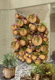 tree stump planters upcycled tree stump and log ideas