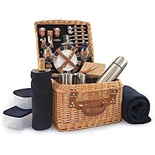 picnic baskets for two picnic time canterbury style picnic basket