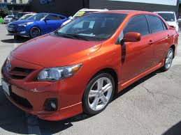 toyota corolla s special edition 2013 used 2013 toyota in los angeles toyota corolla s special edition