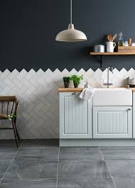Blue Kitchen Tiles New Ways To Use Tiles At Home Blue Kitchen Cupboards Navy Walls