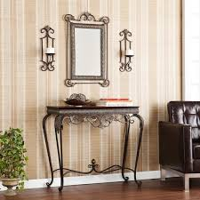 Entryway Sconces Harper Blvd Bransten Console Mirror Sconce Entryway 4 Piece Set