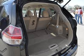 nissan rogue cargo space 2015 nissan rogue review