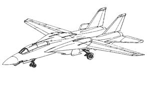 coloriage à dessiner porte avion guerre