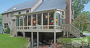 Sunrooms For Decks Three Season Sunroom Addition Pictures U0026 Ideas Patio Enclosures
