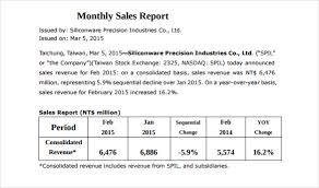 month end report template 26 monthly sales report templates free sle exle format