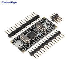 nano v3 atmega328 ch340g micro usb pin headers not soldered