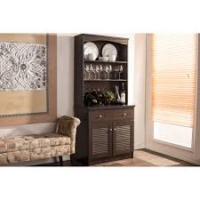 baxton studio agni modern and contemporary brown buffet and