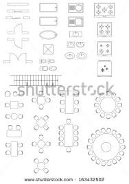 chair symbol floor plan floor plan icons stock images royalty free images vectors