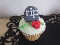 halloween cupcake ideas how to make halloween cupcakes tombstone topper youtube
