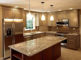 granite kitchen kitchen awesome l shape modern kitchen