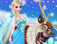 frozen games girls games