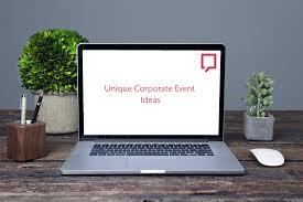 unique corporate event ideas from headbox