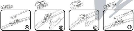 Whisk Wiper Skoda Yeti 8 Adapter Rain X Bosh Type Whisk Doga Goodyear Mitsuba