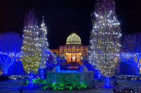 Botanical Gardens Christmas Lights by The Inner Philanthropist Lewis Ginter Botanical Garden
