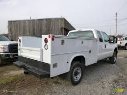 Ford F250 Service Truck - 2014 oxford white ford f250 super duty xl supercab 4x4 utility