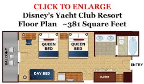 Disney Cruise Floor Plans by Disneys Yacht Club Floor Plan From Yourfirstvisit Net Jpg 1500