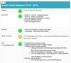 software development status report template software development status report template 4 professional and