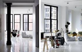 Themes For Interior Design Of Residence Detiger Residence By Studiomda Drum Sets Drums And White Lounge