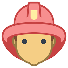 fireman male icon free download at icons8